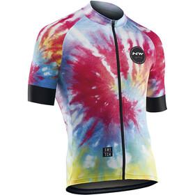 Northwave Hippie Man Kortærmet cykeltrøje Herrer farverig